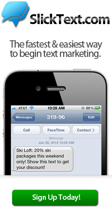 Slick Text - The fastest and easiest way to begin text message marketing