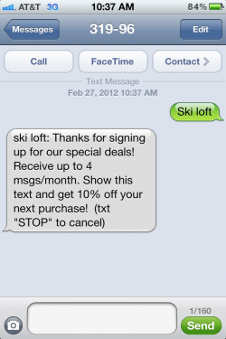 Slick Text - Message auto-reply