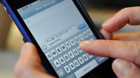 Sending Text Message Marketing
