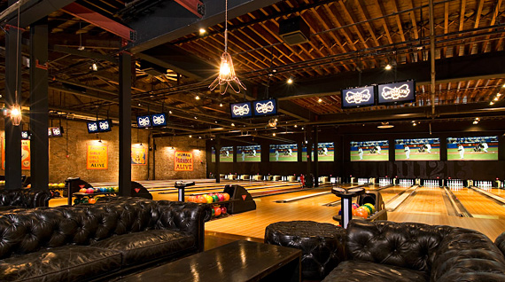 Text marketing for bowling alleys