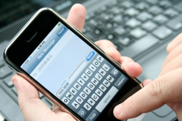text marketing example
