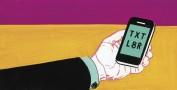 Text message marketing slang
