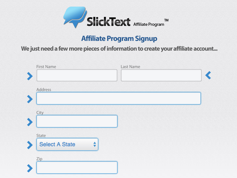 Slick Text Affiliate Program